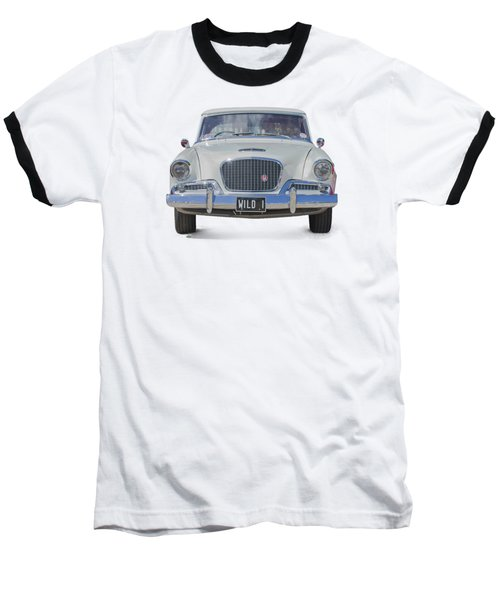 1961 Studebaker Hawk On A Transparent Background Baseball T-Shirt