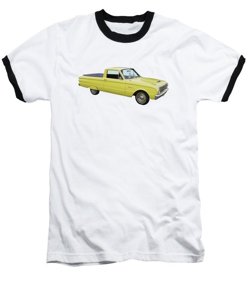1962 Ford Falcon Pickup Truck Baseball T-Shirt by Keith Webber Jr