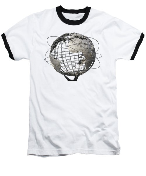 1964 World's Fair Unisphere Baseball T-Shirt by Bob Slitzan