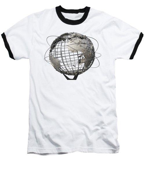 1964 World's Fair Unisphere Baseball T-Shirt