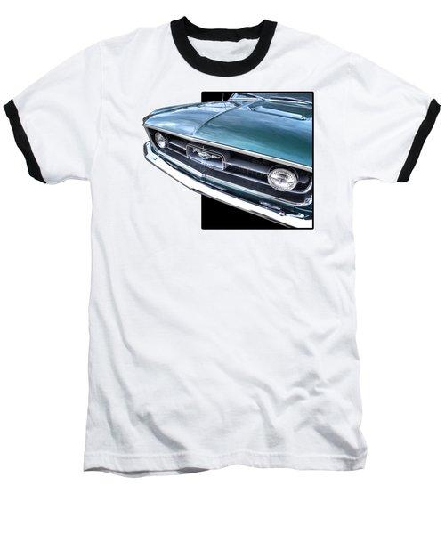 1967 Mustang Grille Baseball T-Shirt by Gill Billington