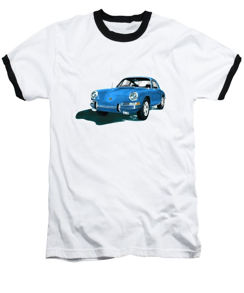 Porsche 911 1968 Baseball T-Shirt by Jack Pumphrey