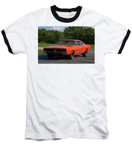 1969 Dodge Charger Rt Baseball T-Shirt