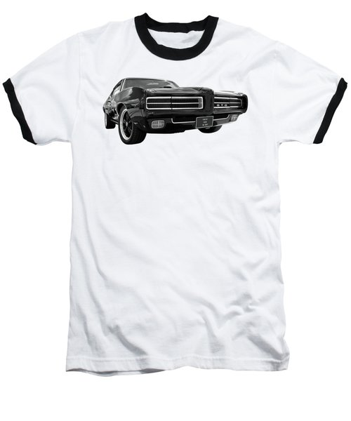 Baseball T-Shirt featuring the photograph 1969 Pontiac Gto The Goat by Gill Billington