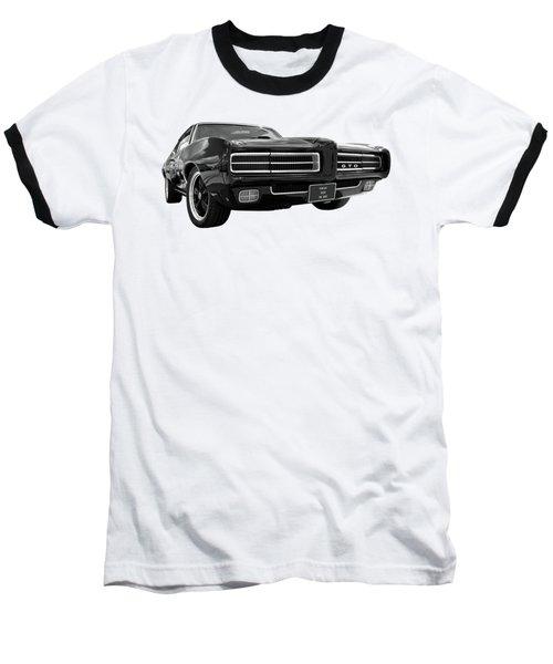 1969 Pontiac Gto The Goat Baseball T-Shirt