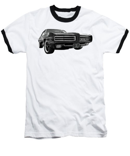1969 Pontiac Gto The Goat Baseball T-Shirt