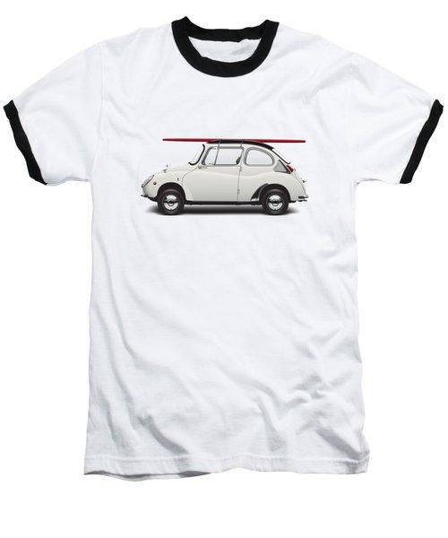 1969 Subaru 360 Young Ss - Creme Baseball T-Shirt