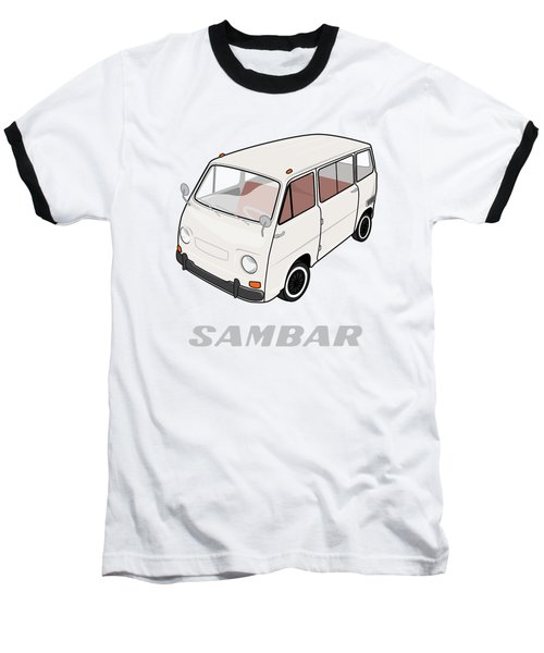 1970 Subaru Sambar Van Baseball T-Shirt