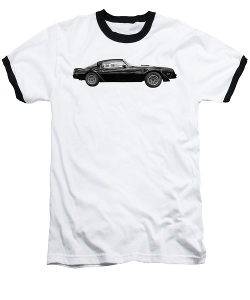 1978 Trans Am In Black And White Baseball T-Shirt