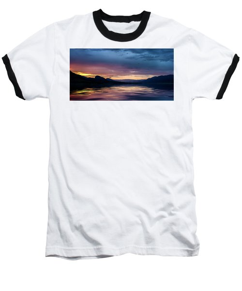 Baseball T-Shirt featuring the photograph Across The Clouds I See My Shadow Fly by John Poon