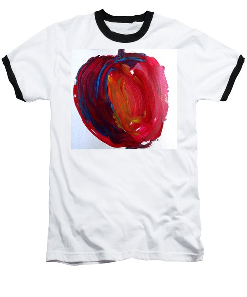 Baseball T-Shirt featuring the painting Apple by Fred Wilson