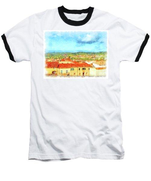 Arzachena Landscape Baseball T-Shirt