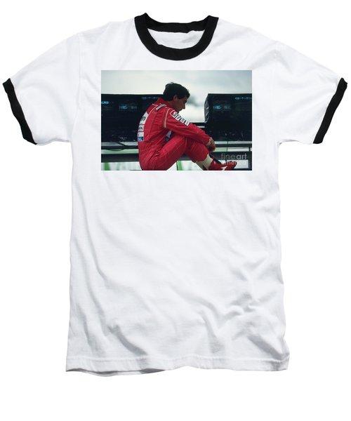 Ayrton Senna. 1992 French Grand Prix Baseball T-Shirt