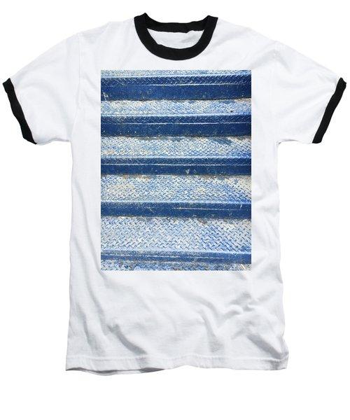 Blue Steps Baseball T-Shirt