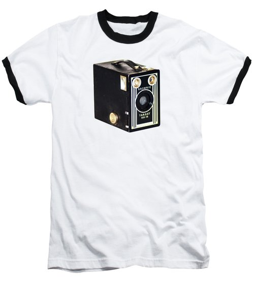 Baseball T-Shirt featuring the photograph Brownie Target Six-16 by Bill Cannon