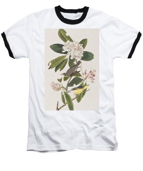 Canada Warbler Baseball T-Shirt by John James Audubon