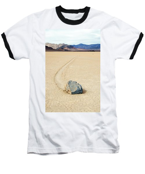 Baseball T-Shirt featuring the photograph Death Valley Racetrack by Breck Bartholomew
