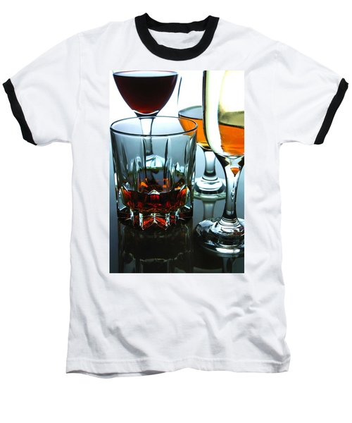 Drinks Baseball T-Shirt