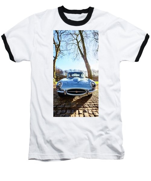 E Type Jaguar Baseball T-Shirt