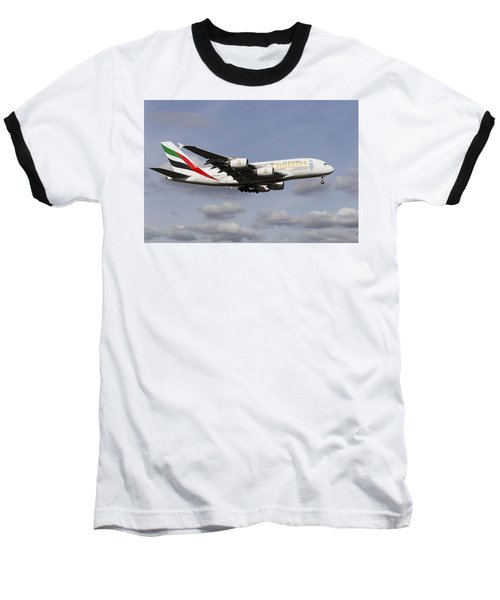 Emirates A380 Airbus Baseball T-Shirt