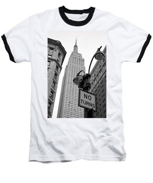 Empire State Building Baseball T-Shirt