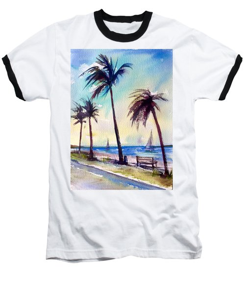 Evening Solitude Baseball T-Shirt