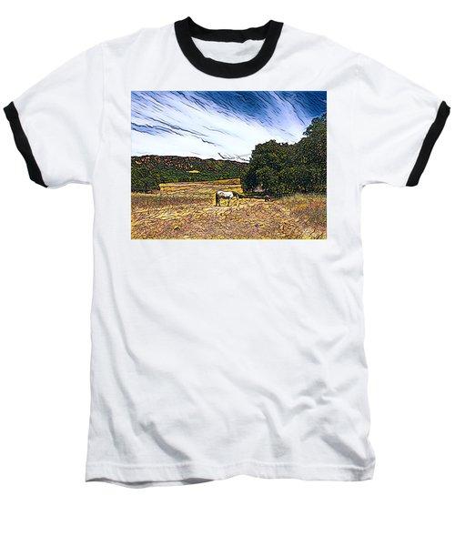 Fat Camp Grazing Baseball T-Shirt