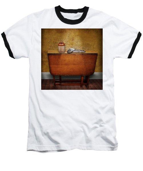 2 Fish And A Jug Baseball T-Shirt by Marty Garland
