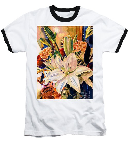 Flowers For You Baseball T-Shirt by MaryLee Parker