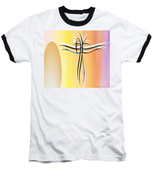 Freedom Baseball T-Shirt by Belinda Threeths