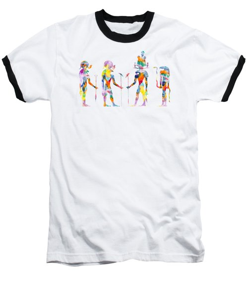 Gods And Goddess Of Ancient Egypt Baseball T-Shirt