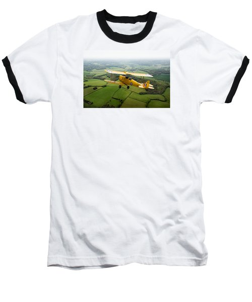 Baseball T-Shirt featuring the photograph Going Solo by Gary Eason