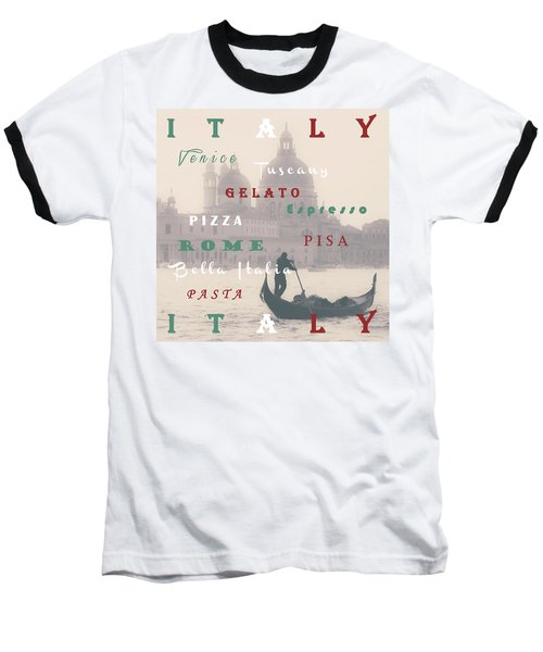Italy Baseball T-Shirt