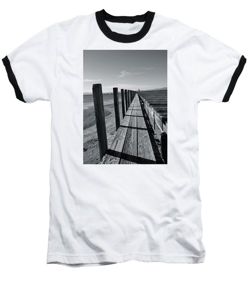 Boardwalk To The Lake Baseball T-Shirt
