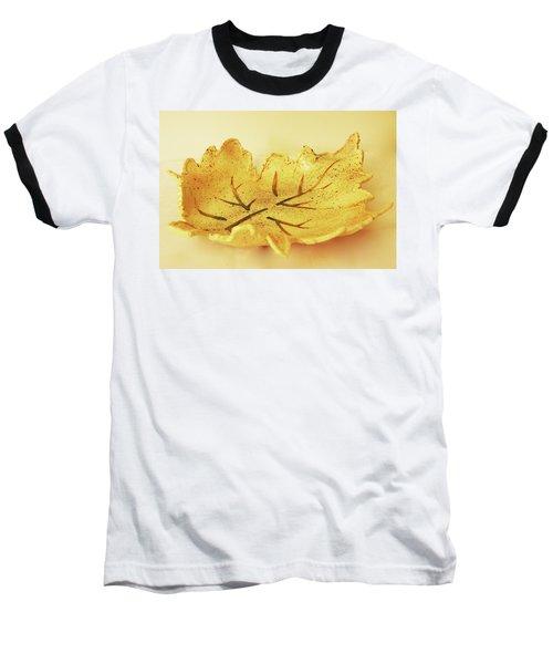 Leaf Plate2 Baseball T-Shirt