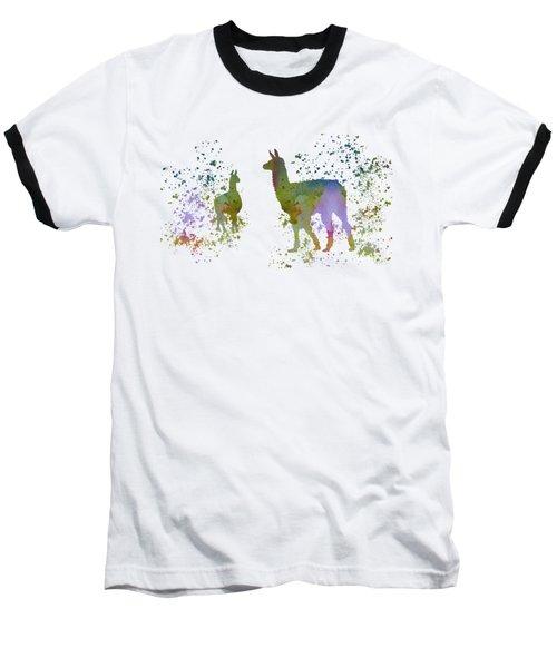 Llamas Baseball T-Shirt