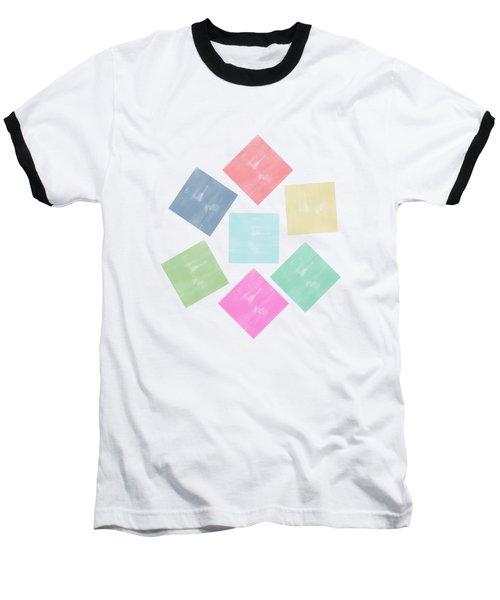 Lovely Geometric Background Baseball T-Shirt