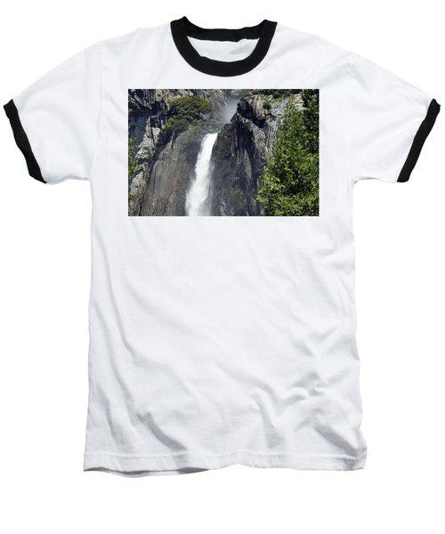 Lower Yosemite Falls Baseball T-Shirt