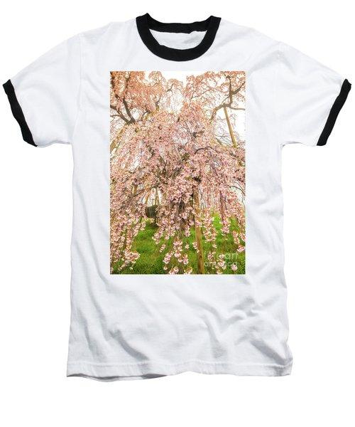 Baseball T-Shirt featuring the photograph Miharu Takizakura Weeping Cherry03 by Tatsuya Atarashi