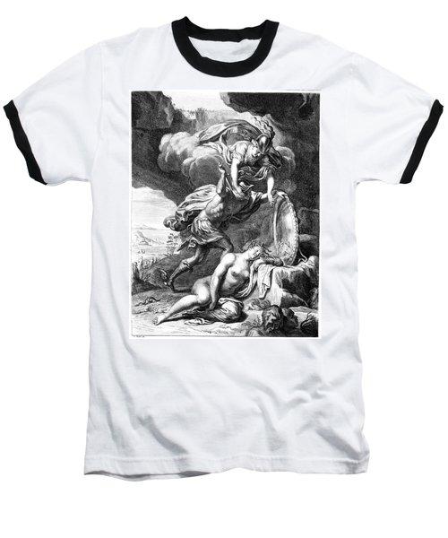 Mythology: Perseus Baseball T-Shirt by Granger