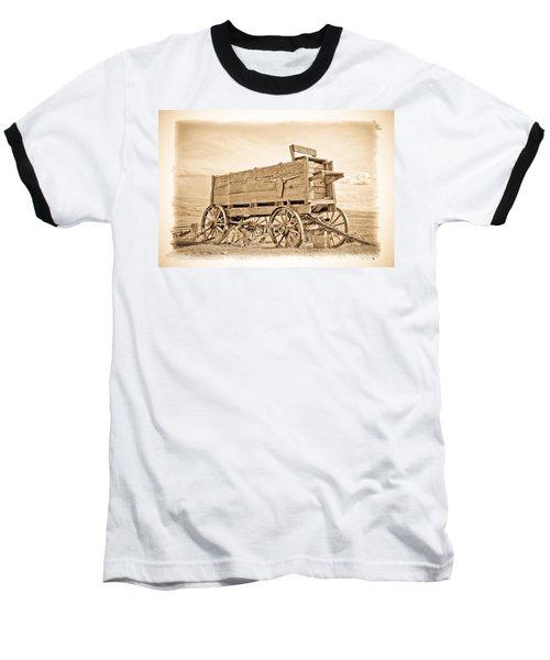 Old West Wagon  Baseball T-Shirt