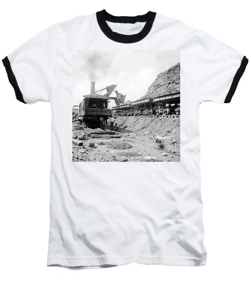 Panama Canal - Construction - C 1910 Baseball T-Shirt by International  Images