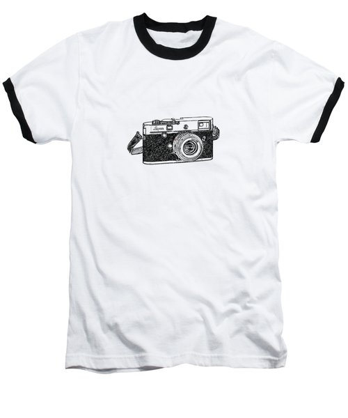 Rangefinder Camera Baseball T-Shirt