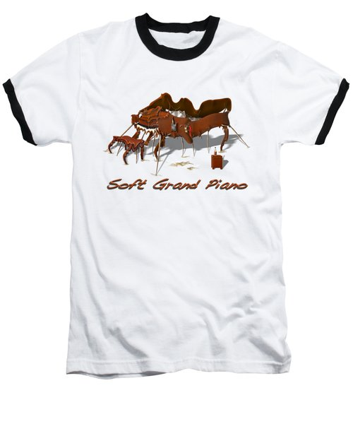 Soft Grand Piano  Baseball T-Shirt