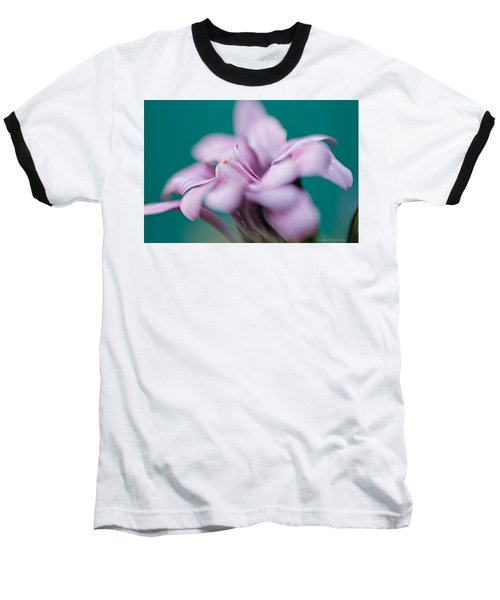 Baseball T-Shirt featuring the photograph Soft Pink by Michaela Preston