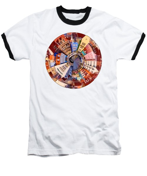 Baseball T-Shirt featuring the photograph Spin City T-shirt by Kathy Kelly