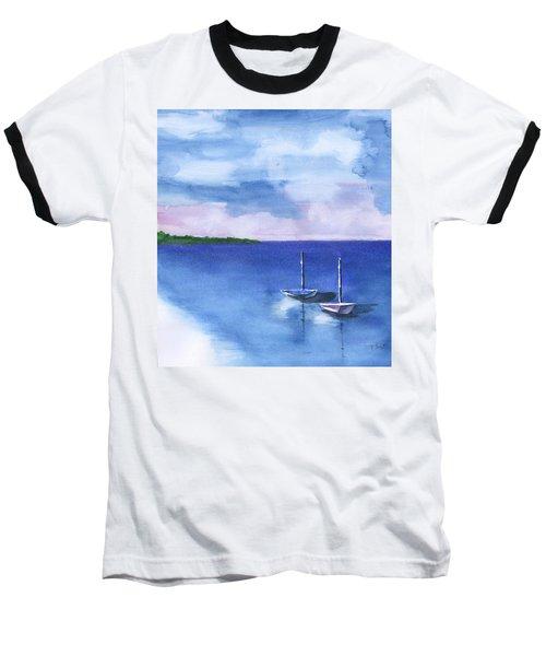 2 Still Boats Baseball T-Shirt