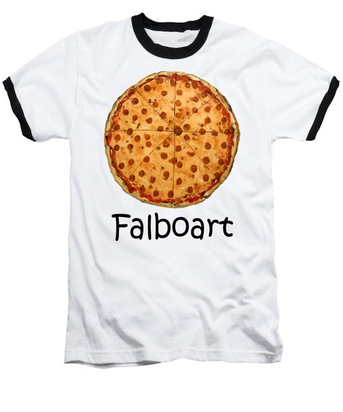 The Big Ass New York Pizza Baseball T-Shirt
