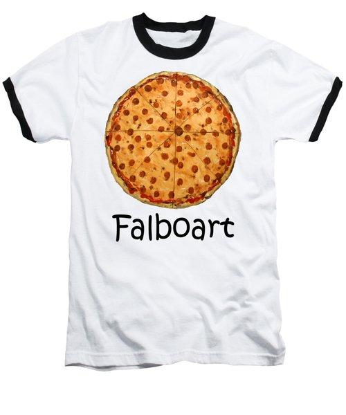 The Big Ass New York Pizza Baseball T-Shirt