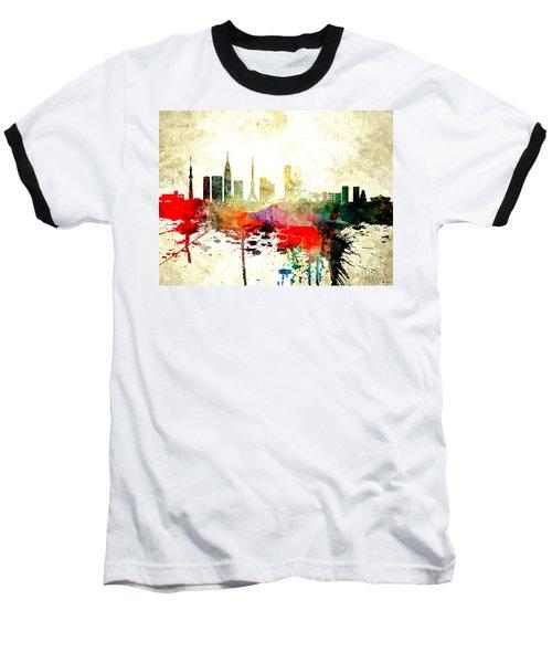 Tokyo Baseball T-Shirt by Daniel Janda